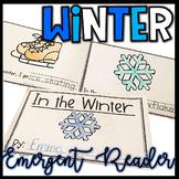 Winter Literacy Activities- Emergent Reader