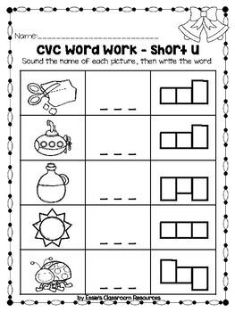 Winter Literacy Activities (K-1)