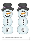 Winter Literacy Activities - Rhyme, Syllables, Beginning &