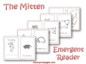 winter literacy activities for pre k by prekpages tpt. Black Bedroom Furniture Sets. Home Design Ideas