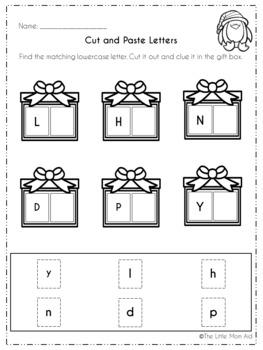 Winter Literacy Activities for Preschool and Kindergarten *Free Sample*