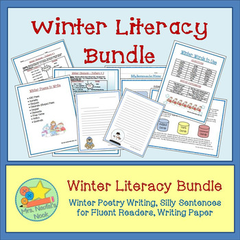 Winter Activities Literacy Bundle