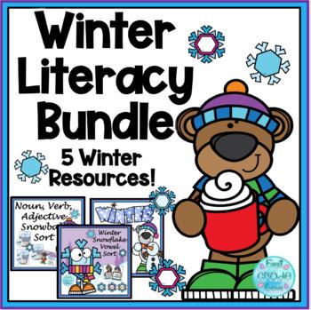 Winter Literacy Bundle
