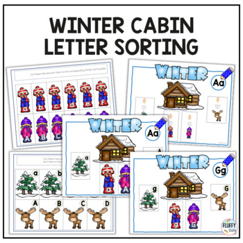 Winter Literacy Center Activities for Preschool