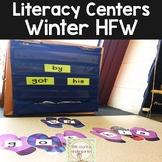 Winter Literacy Center: Kindergarten Sight Words