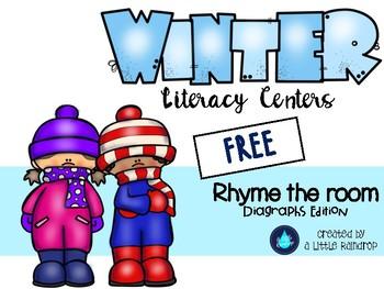 Winter Literacy Center Freebie