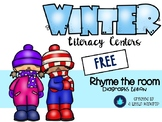 Winter Literacy Center Freebie