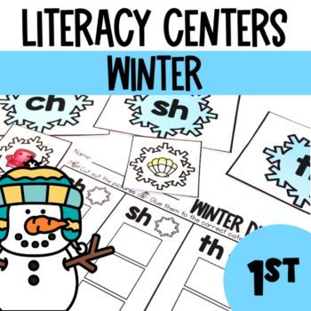 Winter -Literacy Center Fun