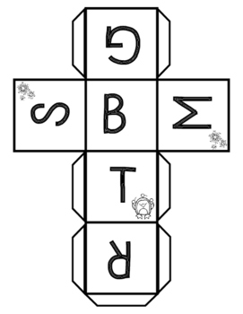 Winter Literacy Center Game-Within Word Patterns and Letter Name Alphabetic