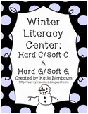 Winter Literacy Center: Hard C & Soft C/ Hard G & Soft G