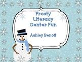 Winter  Literacy Center Packet {8 Centers}