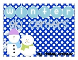 Winter Literacy Centers {2nd Grade Common Core Aligned}