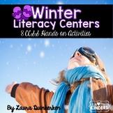 Winter Literacy Centers Common Core