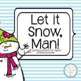 """Winter Literacy Centers for """"Big Kids"""""""