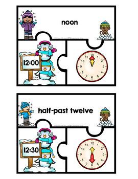 Winter Math & Literacy Centers {First Grade}
