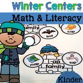 Winter Math & Literacy Centers {Kindergarten}
