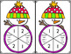 Winter Literacy Centers- Snowman Syllables Board Game