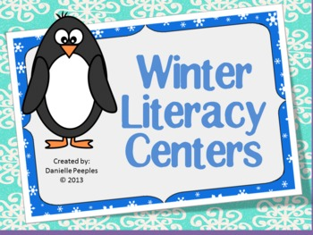 Winter Literacy Centers and Activities
