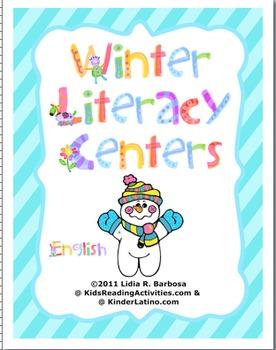 Winter Literacy Centers (english)