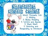 Winter Literacy Centers for Kindergarten
