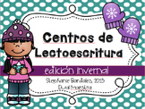 Winter Literacy Centers in Spanish