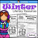 Winter PreK Literacy Activities