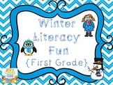 Winter Literacy Fun {First Grade}