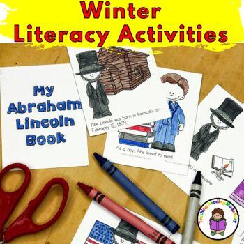 Winter Worksheets and Activities for Kindergarten or Preschool