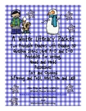 Winter Guided Reading Activities with Printable Books