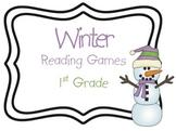 Winter Literacy Games 1st Grade