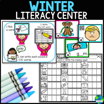 Winter Literacy Little Prep, Big Fun
