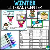 Winter Literacy Little Prep, Big Fun