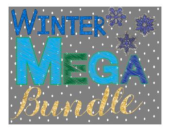Winter Literacy MEGA bundle