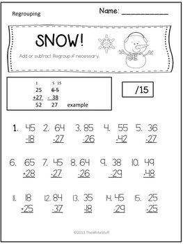 Winter Activities: Penguins Polar Bears and Snow