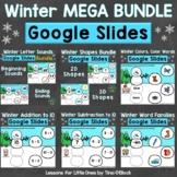 Winter Literacy & Math Google Classroom Google Slides Digi