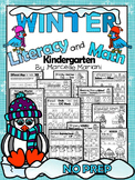 WINTER WORKSHEETS- 100+ Literacy & Math worksheets for winter (Kindergarten)
