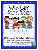 Winter Literacy, Math & Science Activities