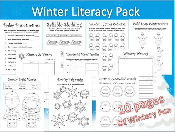 January Literacy Activities
