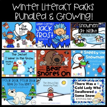 Winter Literacy Pack {BUNDLED}