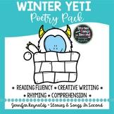 Winter  Literacy Pack--Yeti Poems