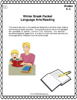 Winter Literacy Activities for Primary Grades