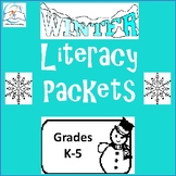 Winter Break Homework Packets | Literacy | Elementary Classrooms