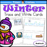 Winter PreK Literacy Activity