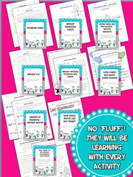Winter Literacy Printables - No Prep! (Common Core Aligned)