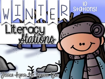 January Deals : Winter Literacy Stations {10 Stations}