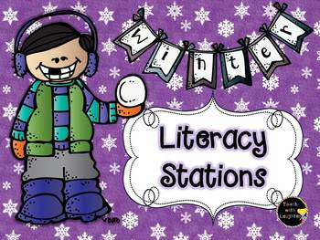 Winter Literacy Work Stations