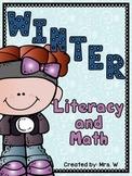 Winter Literacy and Math
