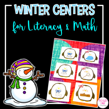 Winter Literacy and Math Activities