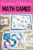 Winter Literacy Centers and Math Activities