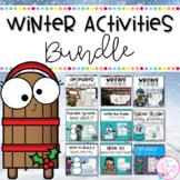 Winter Literacy and Math Activities Bundle